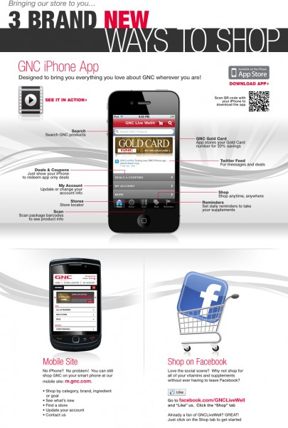 GNC iPhone App