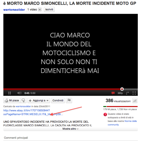 marco simoncelli youtube