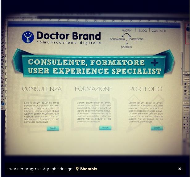 doctor website work in progess
