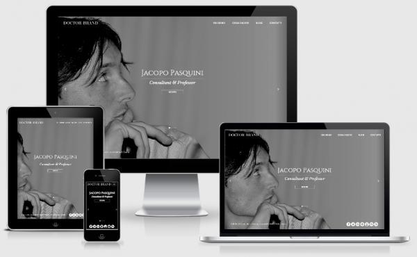 doctor brand responsive web design