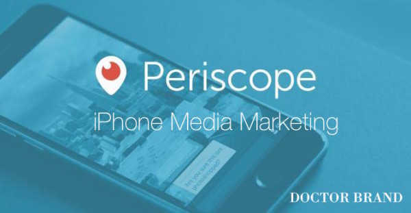 twitter periscope app live streaming logo iphone media marketing