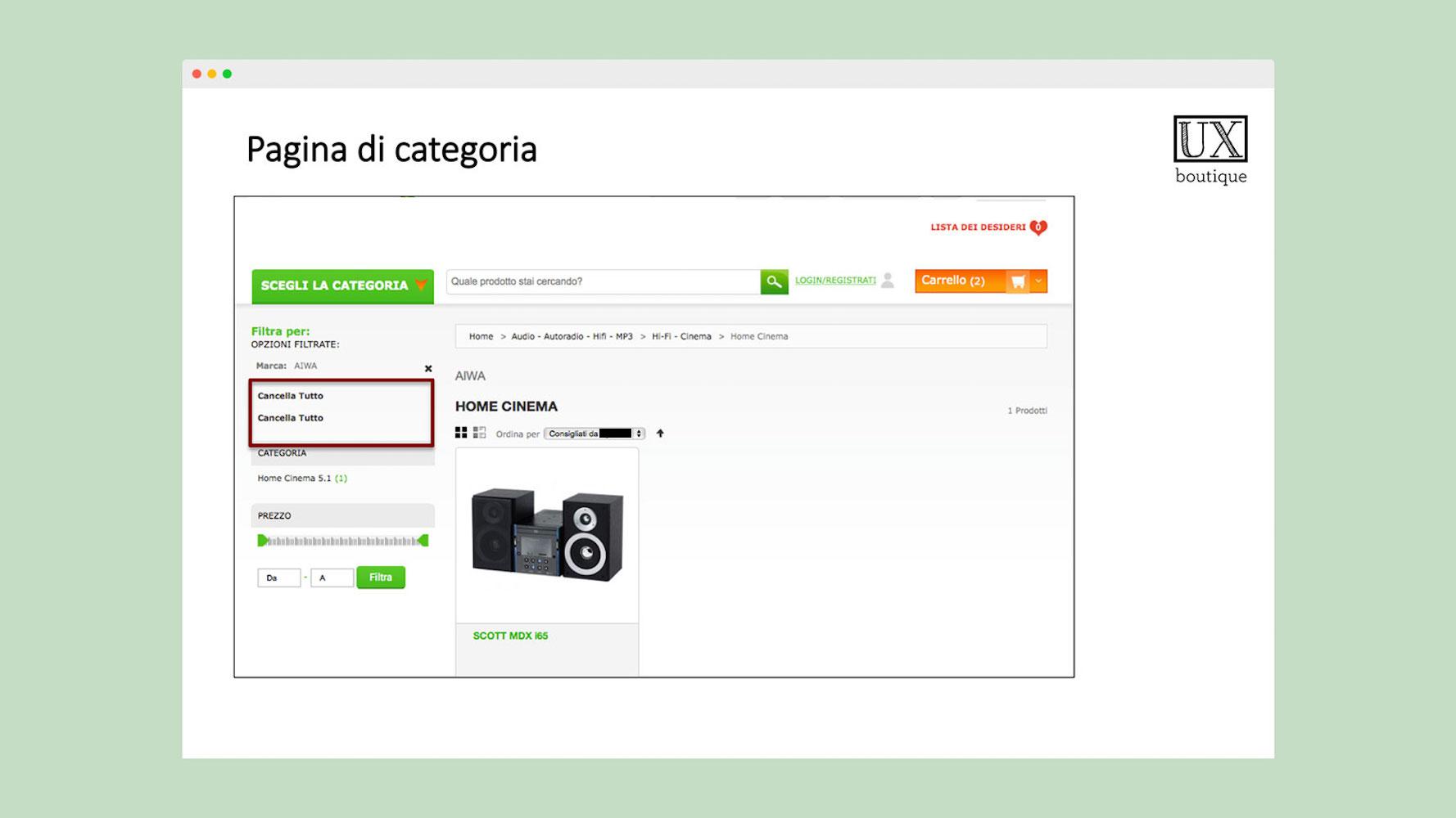 Ecommerce UX Design Web Usability