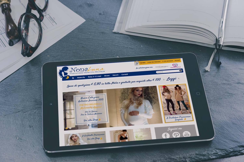 nona luna prenatal premaman e-commerce startup online advertising social media marketing